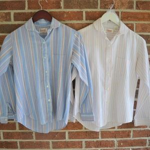 Vintage Lot of 2 Casual Corner Nancy Wheeler Tops